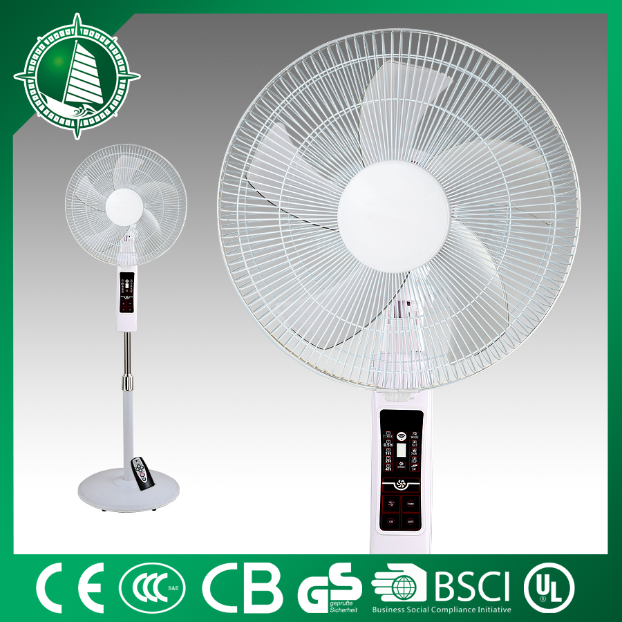 3 IN I rechargeable battery stand fan line grill with rim