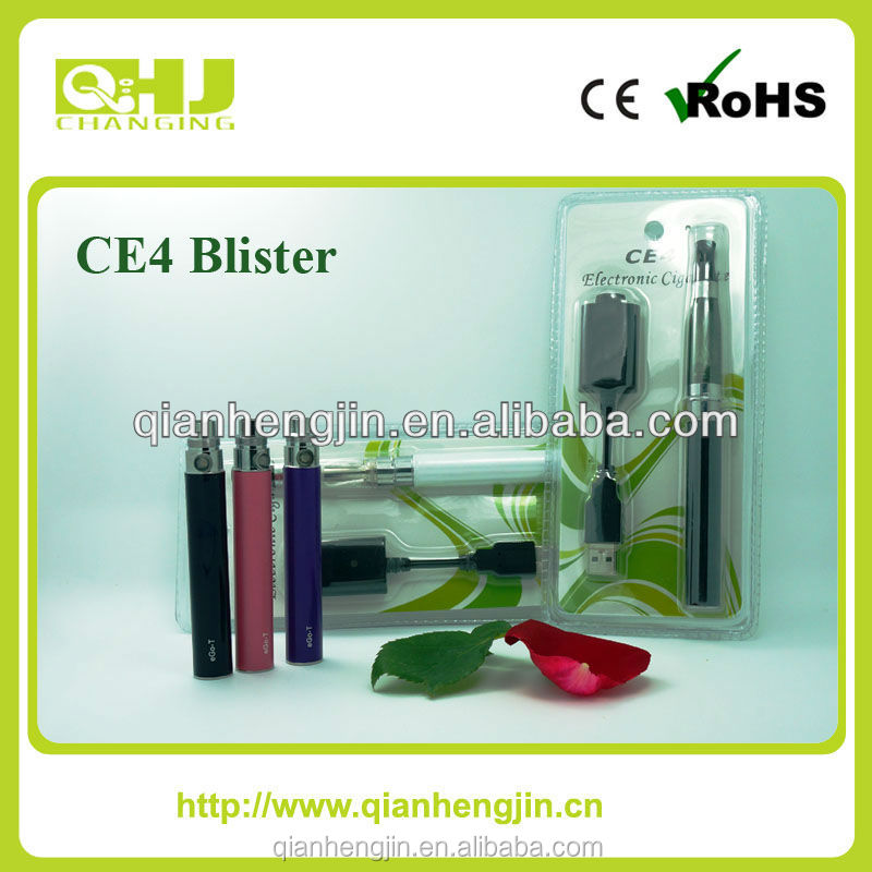 2015 new products e cigarette ego ce4 blister pack china supplier