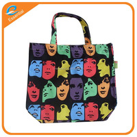 New product eco fashion canvas tote shopping bag