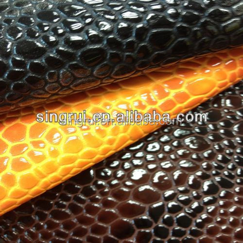 2017 Year Fashion Pu Leather Textile