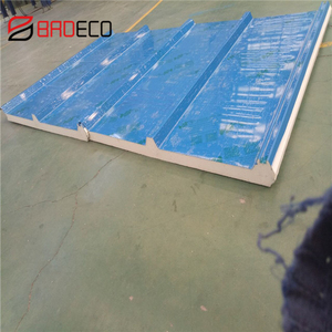 Polyurethane/PIR Insulated Corrugated Color Steel Sandwich Panel For Roof