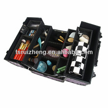 Protable aluminum hair beauty case with 4 trays RZ-LCO153-3