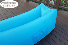 Promotion at stock!!! Cheapest and qualified fast inflatable lay bag air sofa for hiking camping and beach lazy bed sofa