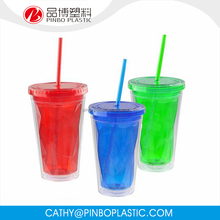 Good Quality Sell Well Plastic Flexible And Durable Drinking Acrylic Tumbler