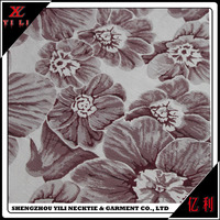 Fashion Shaoxing Jacquard Polyester Fabric Textile For The Fashion Dress By Polyester Mix Wool