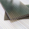 Green material waterproof and sun protector polycarbonate roofing sheets for passageway