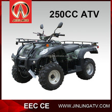 China Jinling 250cc quad bikes for sale manual clutch atv