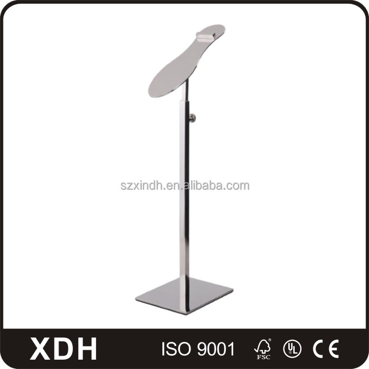 Fashion stores display stand metal shoe rack