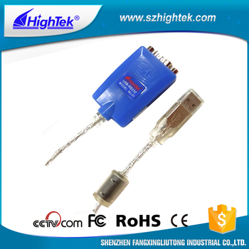 HU-01 DB9 male connector usb to rs232 cable Interface Converter