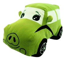 ICTI factory custom cartoon baby car toys plush stuffed car toy