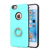 dual layer hybird kickstand tpu pc mobile phone case for iphone 7
