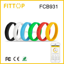Fittop Waterproof Calorie Counter Pedometer Wristband Activity Tracker Smart Bracelet