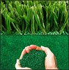 Black rubber granules for artificial grass infill, Colorful EPDM Rubber Granules for children playground-FN-A-16032902