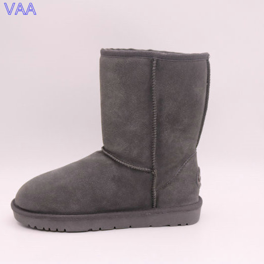 Mid Calf TPR Sole Sheepskin High Discount Wholesale Price Brands Winter Men Boots JLX-CF-43