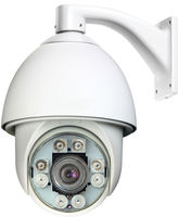 2014 Top 3!!! Auto-Tracking 30X High-Speed 150M IR waterproof high speed dome camera,with wall bracket