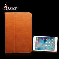 New tablet leather case genuine leather case for ipad mini 4