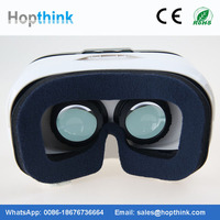 2016 New Gadgets Virtual Reality 3D Video Movie Game Glasses Helmet for Mobile Phone