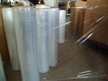HDPE LDPE clear plastic stretch film in roll with good price in China
