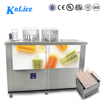 17000 pieces per day 4 mould ice lolly machine/popsicle machine with sticks
