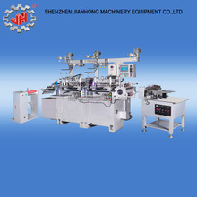 hot stamping hole punching business card die cutting machine