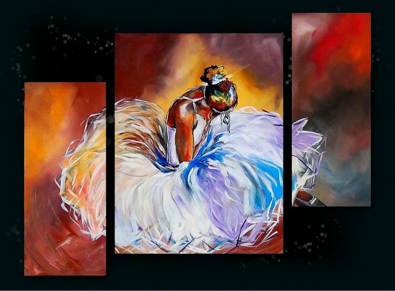 women hot sex images hand painted wall art decor canvas framed Oil Painting PL-449