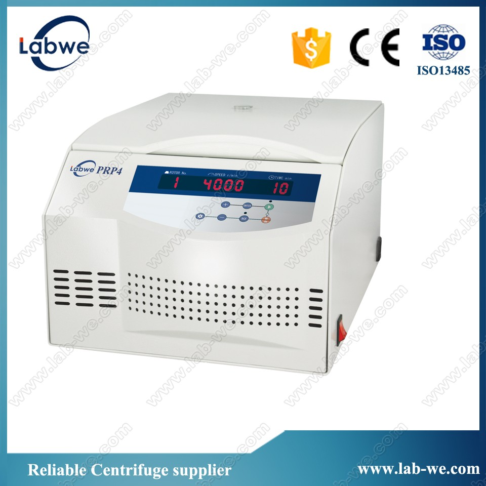 CE and ISO13485 approved Platelet Rich Plasma centrifuge Model:PRP4
