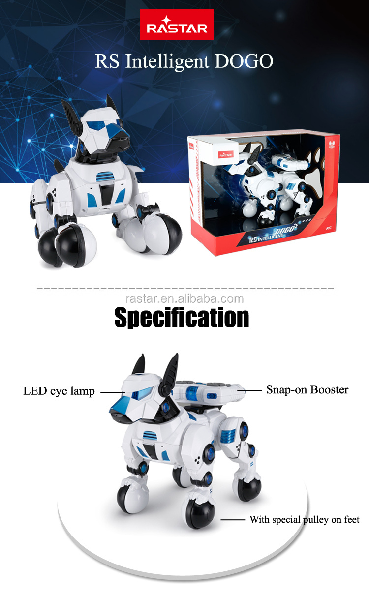 RASTAR electric battery operated robot dog for sale
