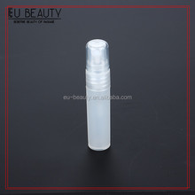 Frosted plastic 5ml perfume pen