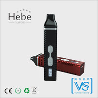 Latest digital vaporizer pen , Hebe vapor , authentic titan 2 herbal vaporizer