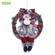15''Good price amazon uk decoration rattan angel ornaments home decorations christmas item