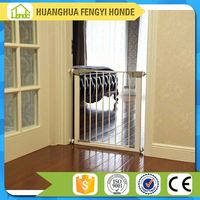 Small MOQ Rational Construction Foldable Pet Safety Gate