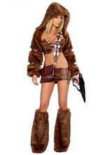 Latest Sexy Ladies Animal Hunter Costume for Halloween
