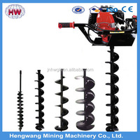 gasoline earth auger digging tool/agricultural digging tools/borehole drilling machine