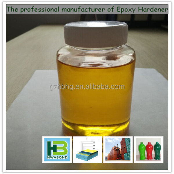 Water base epoxy hardener for interior wall paint,glass paint and wood coatings HB8180