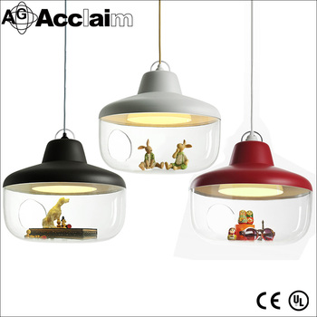 kitchen decor transparent glass ball pendant lighting for indoor used