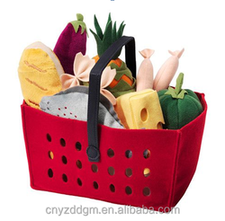 Fruit and Vegetable Basket Stuffed Plush Soft Toys