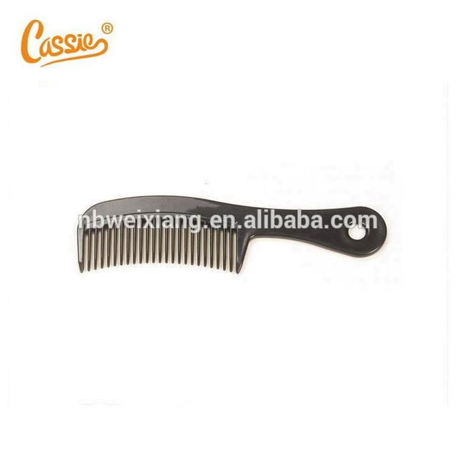 High quality professional easy clean plastic hair comb
