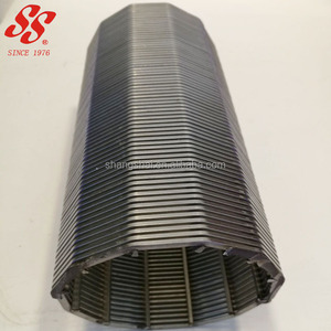 304 316L stainless steel wedge wire water well filter pipe screen