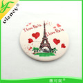 Compact Tinplate Mini Mirrors for Souvenir Promotional Gifts