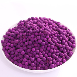 8% KMnO4 Purple activated potassium permanganate alumina for sale