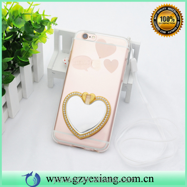 Mobile phone accessories factory in China heart design tpu cover case for oppo a37 cover