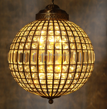 Iluminacion vintage industrial <span class=keywords><strong>cristal</strong></span> chandelier
