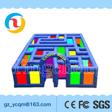 Giant Inflatable Maze , Kids Obstacle Course Equipment , Inflatable Obstacle