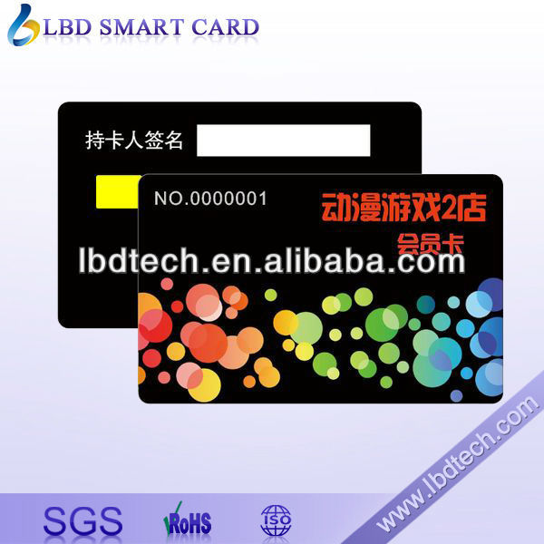 Contact IC Chip Card Atmel 24C for Water Company