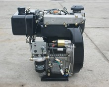 22hp Electric start two cylinder diesel engine