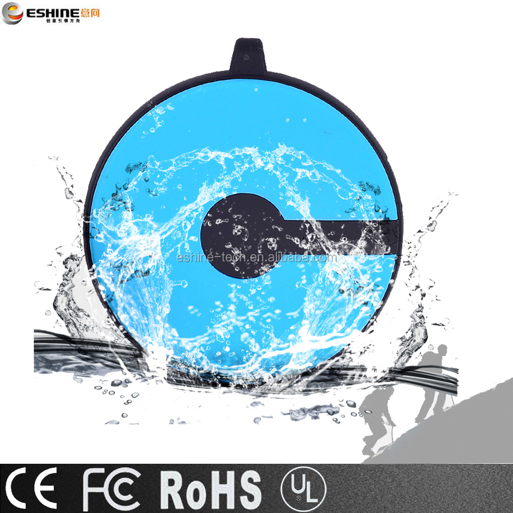 IP6X waterproof power bank shaking on switch as promotion gift