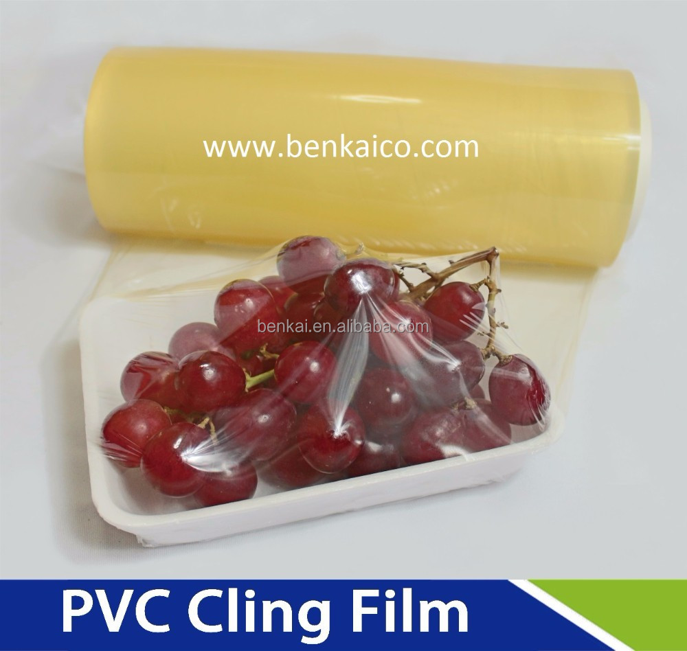 PVC cling film/plastic wrap