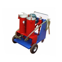 Portable Lubricating Oil Filter Oil Recycling Machine Oil Recycling