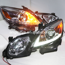 LED Head Light For Lexus for GS300 GS350 GS430 GS450 2006-2011 year Chrome Housing Left Hand Driving SN