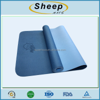 high quality custom label recyclable tpe yoga mat